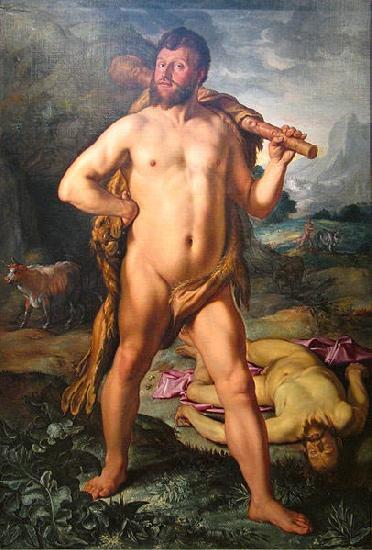 Hendrick Goltzius Hercules and Cacus oil painting picture