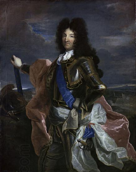 Hyacinthe Rigaud Portrait of Louis XIV oil painting picture