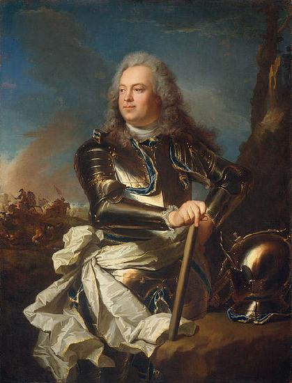 Hyacinthe Rigaud Portrait of Louis Henri de La Tour d'Auvergne oil painting picture