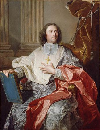 Hyacinthe Rigaud Archbishop of Cambrai oil painting picture