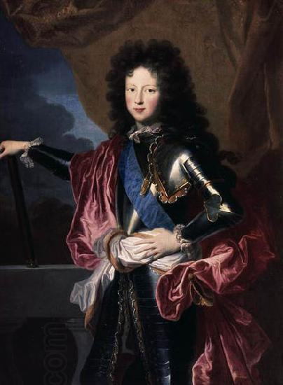Hyacinthe Rigaud Portrait of Philippe II, Duke of Orleans (1674-1723), Regent de France