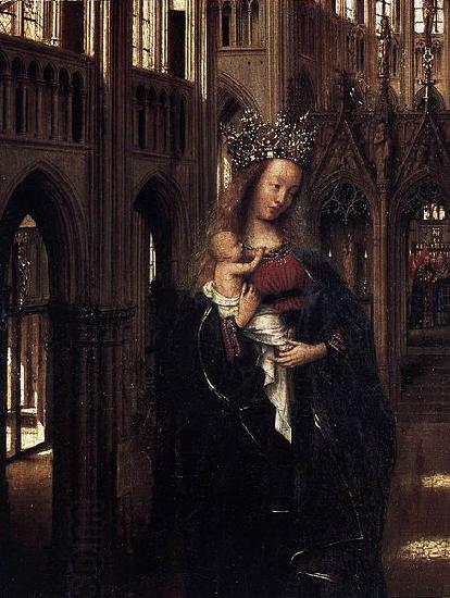 Jan Van Eyck Madonna in the Church oil painting picture