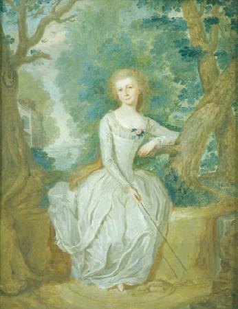 Joseph Whiting Stock Portrait of a woman oil painting picture