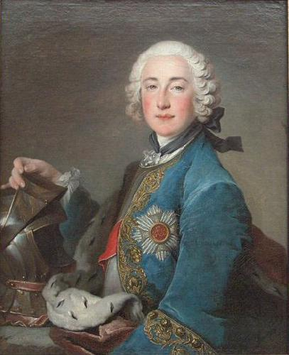 Louis Tocque Portrait of Frederick Michael of Zweibrucken oil painting picture