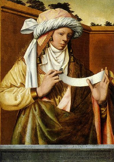 Ludger tom Ring the Younger Samian Sibyl oil painting picture