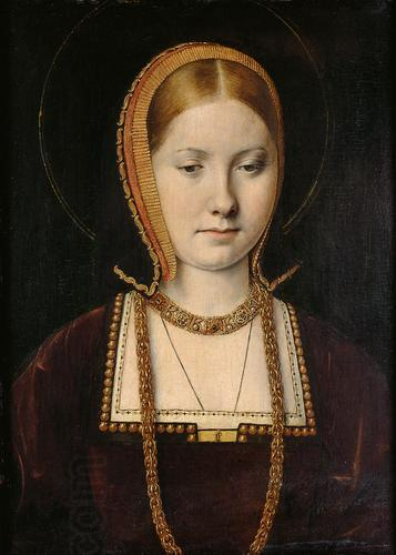 Michiel Sittow Young Catherine of Aragon oil painting picture