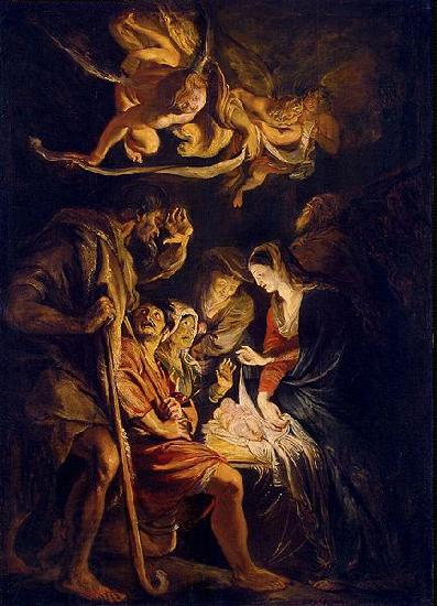 Peter Paul Rubens Adoration of the Shepherds oil painting picture