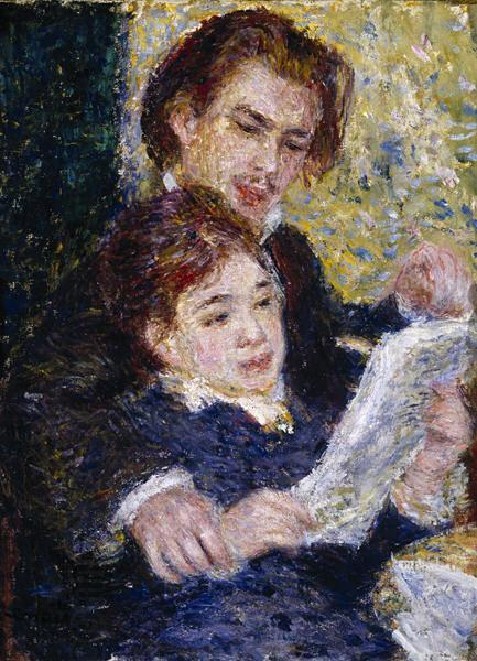 Pierre-Auguste Renoir In the Studio oil painting picture