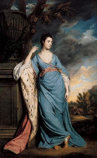 Sir Joshua Reynolds Portrait of a Woman oil painting picture