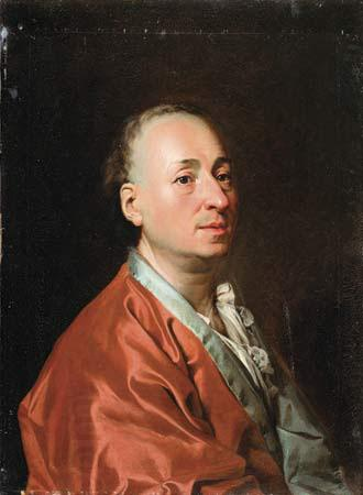 unknow artist Portrait of Denis Diderot oil painting picture