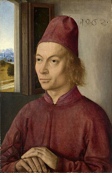 Dieric Bouts Portrait of a Man oil painting picture