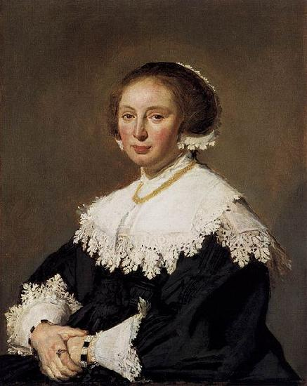Frans Hals Portrait of a woman oil painting picture