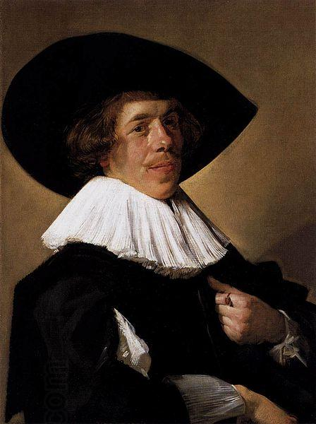Frans Hals Portrait of a Man oil painting picture