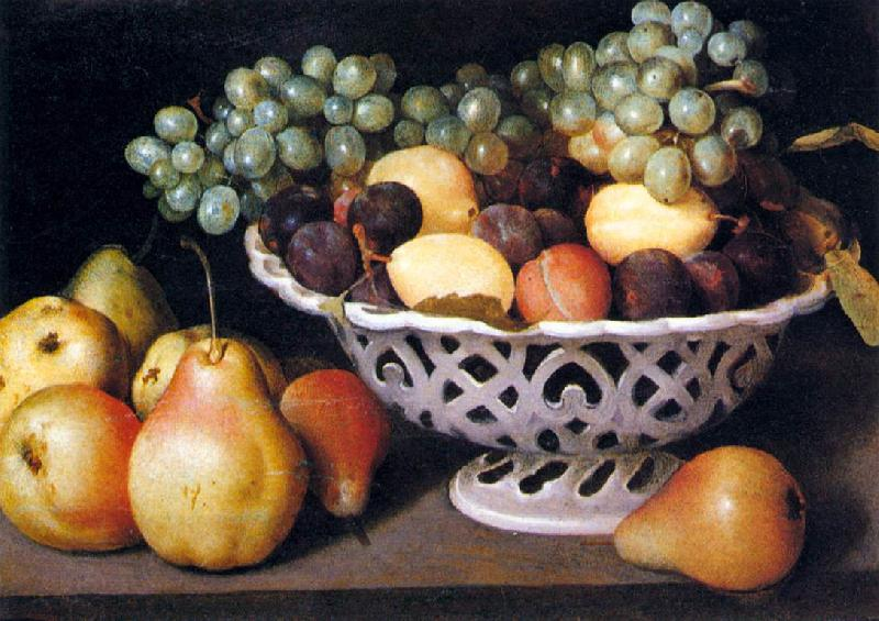 Galizia,Fede Maiolica Basket of Fruit oil painting picture