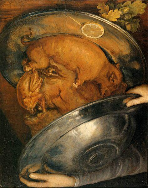 Giuseppe Arcimboldo The Cook oil painting picture