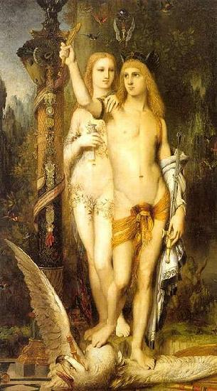 Gustave Moreau Jason and Medea oil painting picture