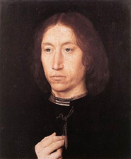 Hans Memling Portrait of a Man oil painting picture