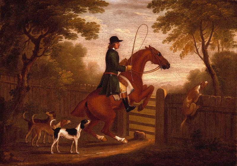 James Seymour Jumping the Gate oil painting picture