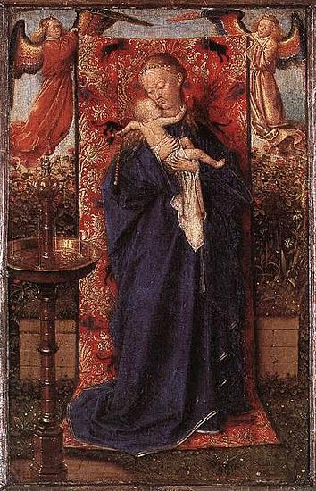 Jan Van Eyck Madonna and Child at the Fountain oil painting picture