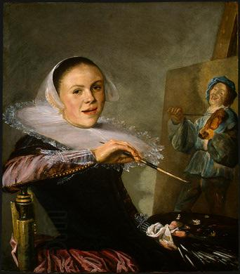 Judith leyster Self Portrait oil painting picture