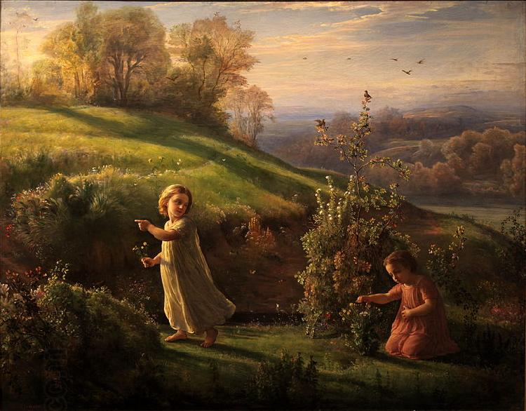 Louis Janmot Spring oil painting picture
