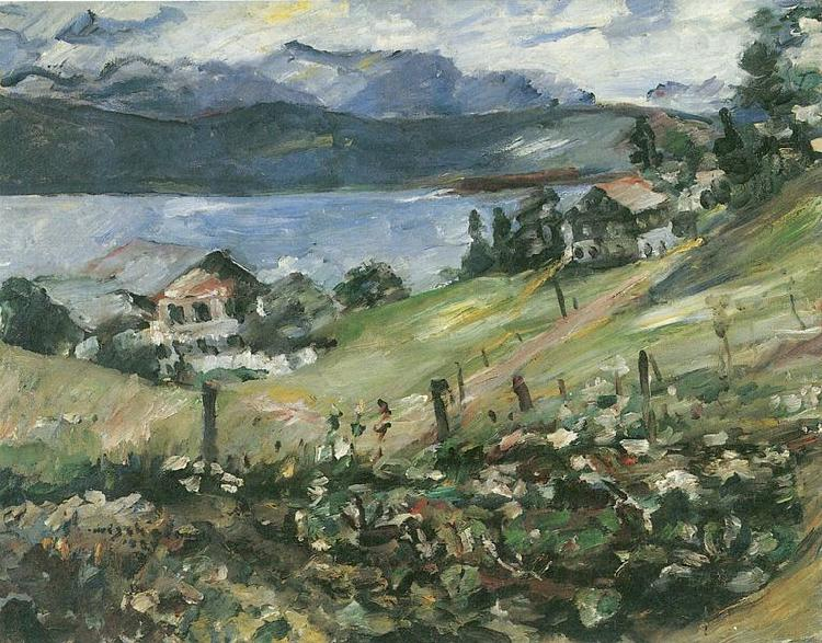 Lovis Corinth Walchensee oil painting picture