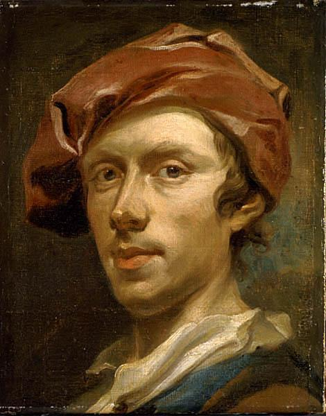 Olof Arenius Self portrait oil painting picture