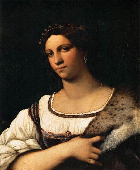 Sebastiano del Piombo Portrait of a Woman oil painting picture