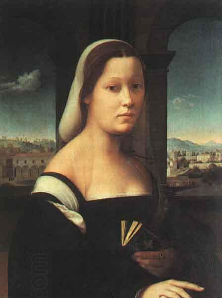 BUGIARDINI, Giuliano Portrait of a Woman oil painting picture