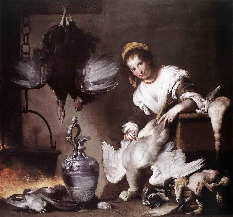 Bernardo Strozzi The Cook oil painting picture