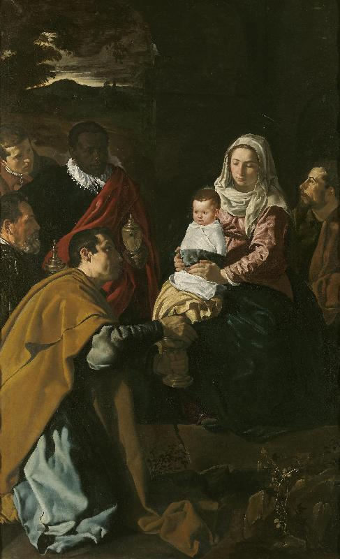 Diego Velazquez Adoration of the Magi oil painting picture