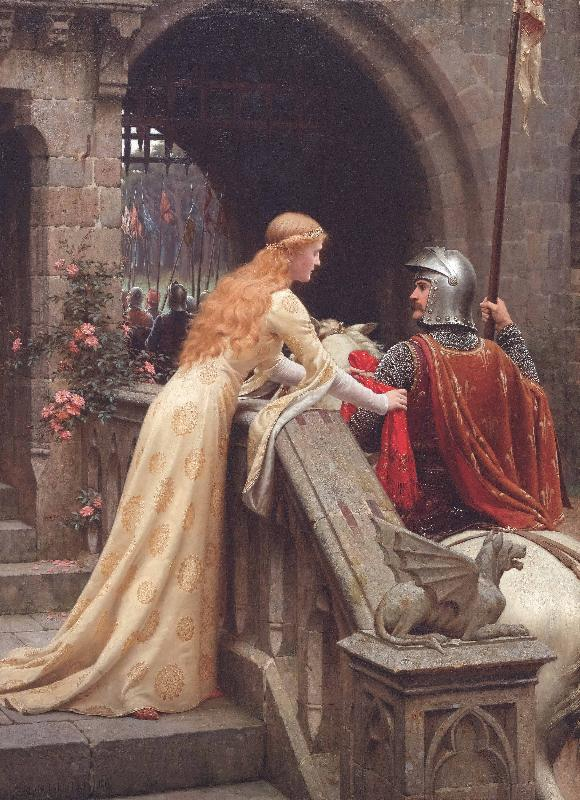 Edmund Blair Leighton God Speed oil painting picture
