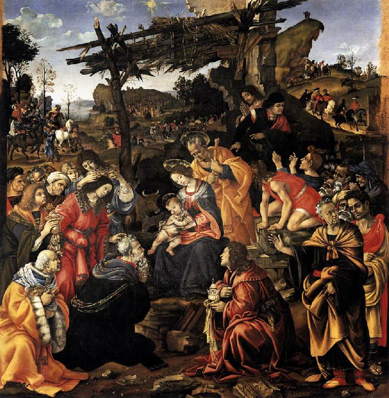 Filippino Lippi Adoration of the Magi China oil painting art