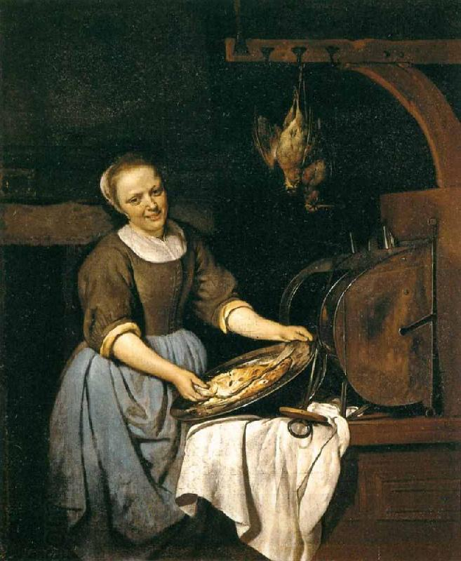 Gabriel Metsu The Cook oil painting picture