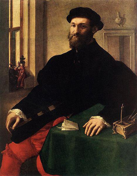 Giulio Campi Portrait of a Man oil painting picture