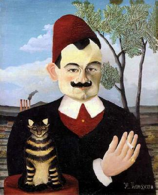 Henri Rousseau Portrait of Monsieur X (Pierre Loti) oil painting picture