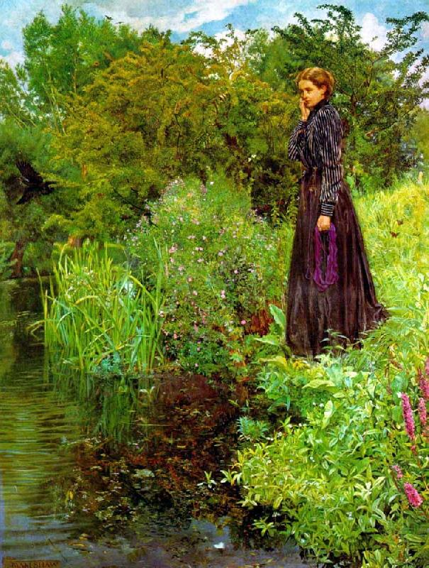 John Liston Byam Shaw John Liston Byam Shaw Boer War oil painting picture