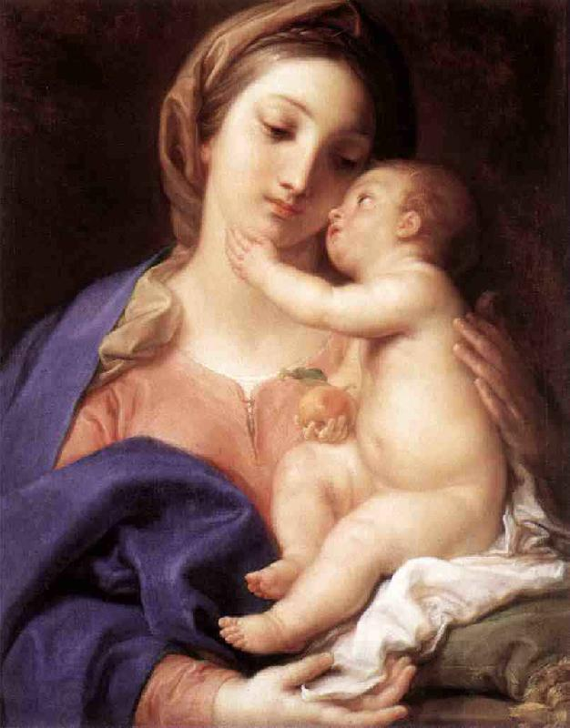 Pompeo Batoni Madonna and Child oil painting picture