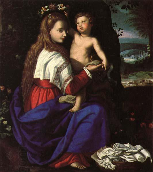 ALLORI Alessandro Madonna and Child oil painting picture