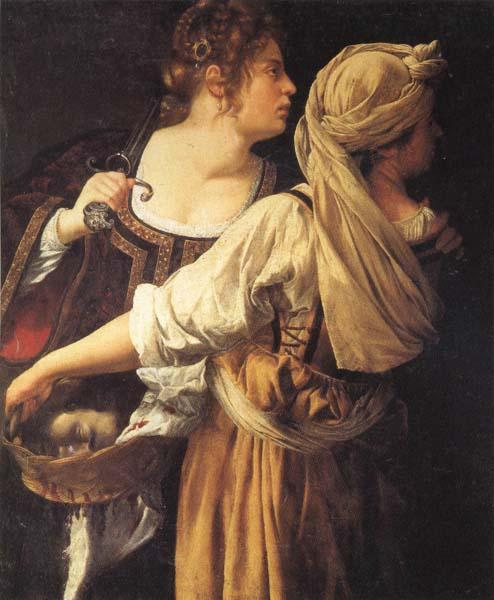 Artemisia gentileschi Judith and Her Maidser oil painting picture