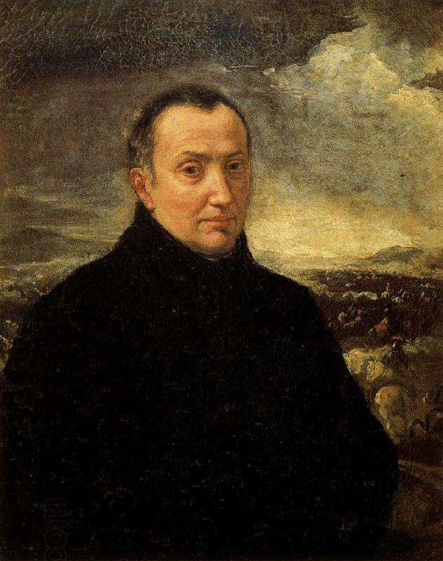 BORGOGNONE, Ambrogio Self-Portrait oil painting picture