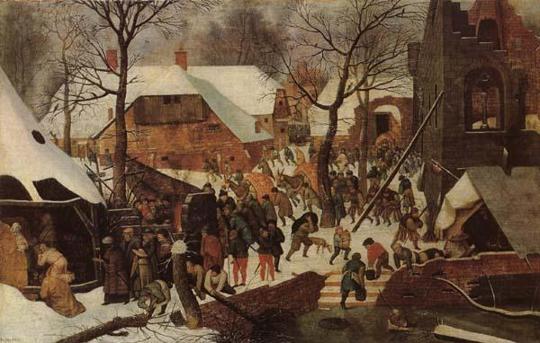 BRUEGHEL, Pieter the Younger Adoration of the Magi oil painting picture