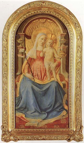 Benozzo Gozzoli Madonna and Child oil painting picture