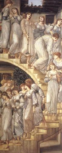Burne-Jones, Sir Edward Coley The Golden Stairs China oil painting art