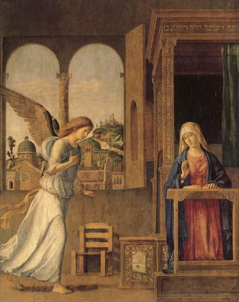 CIMA da Conegliano Annunciation oil painting picture