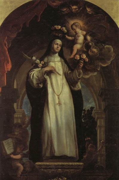 COELLO, Claudio St.Rose of Lima oil painting picture
