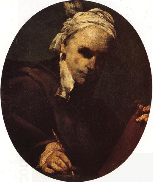 CRESPI, Giuseppe Maria Self-Portrait oil painting picture