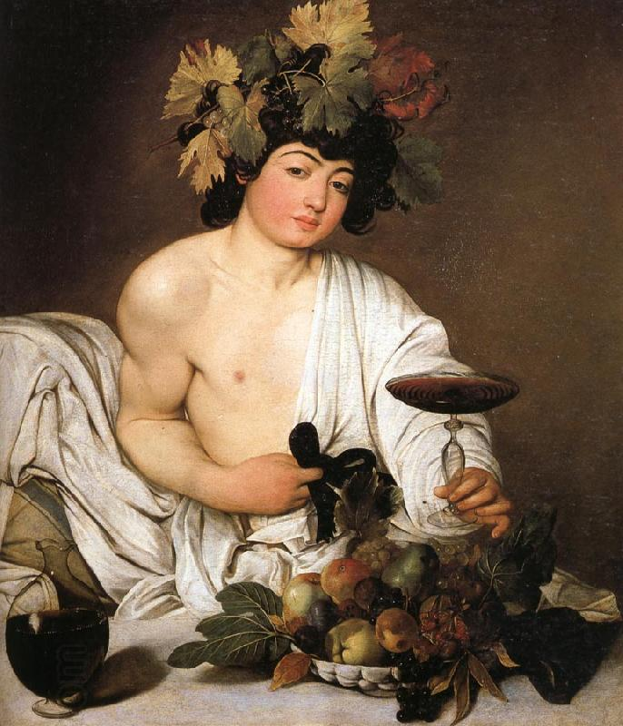 Caravaggio Bacchus China oil painting art