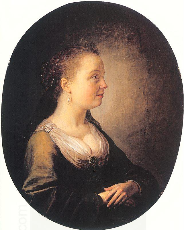 DOU, Gerrit Portrait of a Young Woman