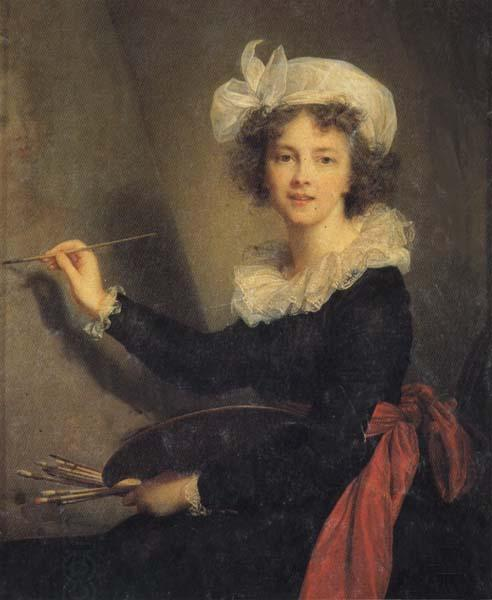 Elisabeth-Louise Vigee-Lebrun Self-Portrait oil painting picture